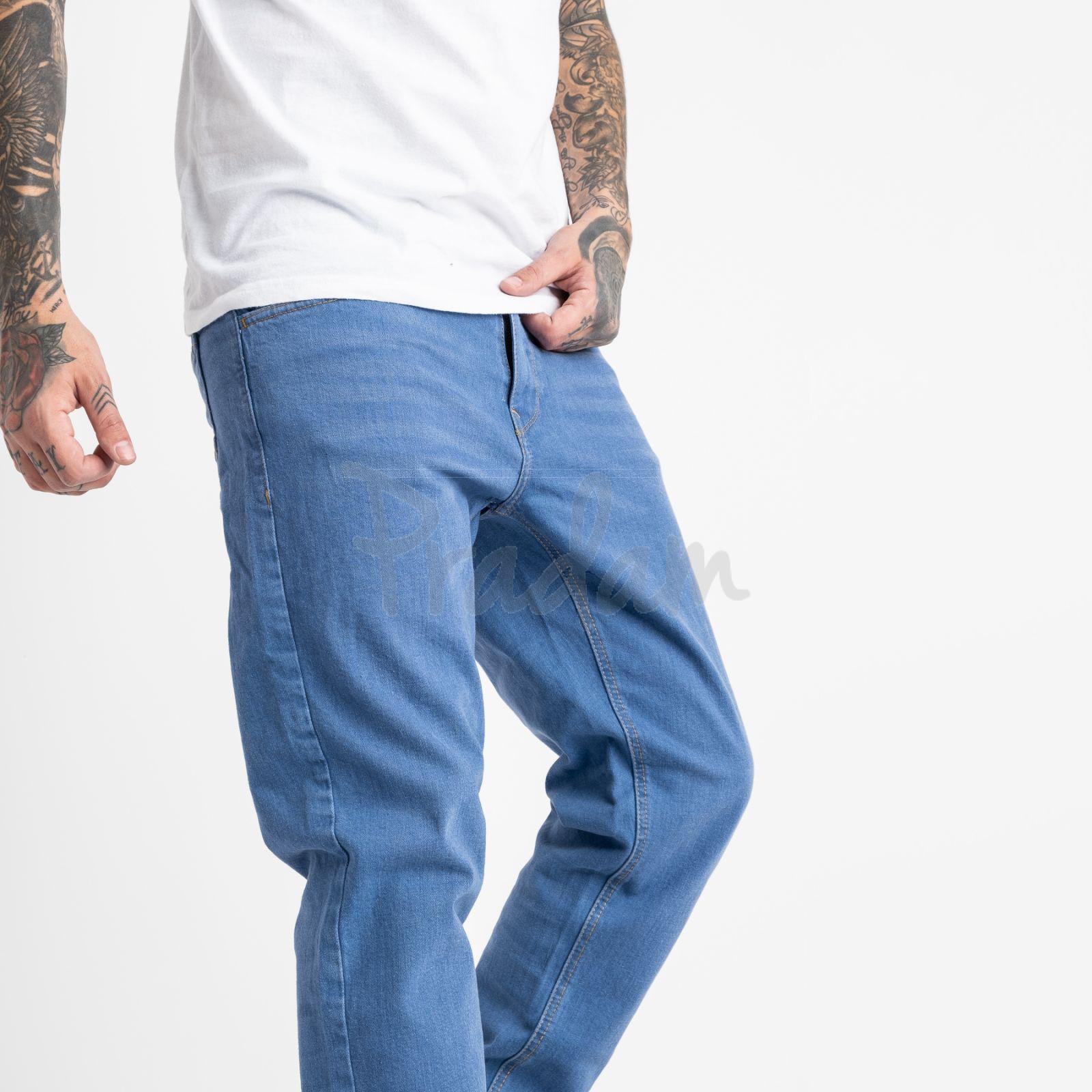 1932-2 Nescoly джинсы мужские голубые стрейчевые (8 ед. размеры: 30/2.32/2.34/2.36/2)