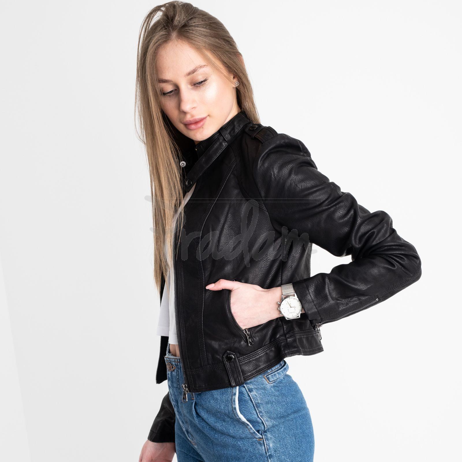2025 Lanmas куртка женская из кожзама (5 ед. размеры: S.M.L.XL.2XL)