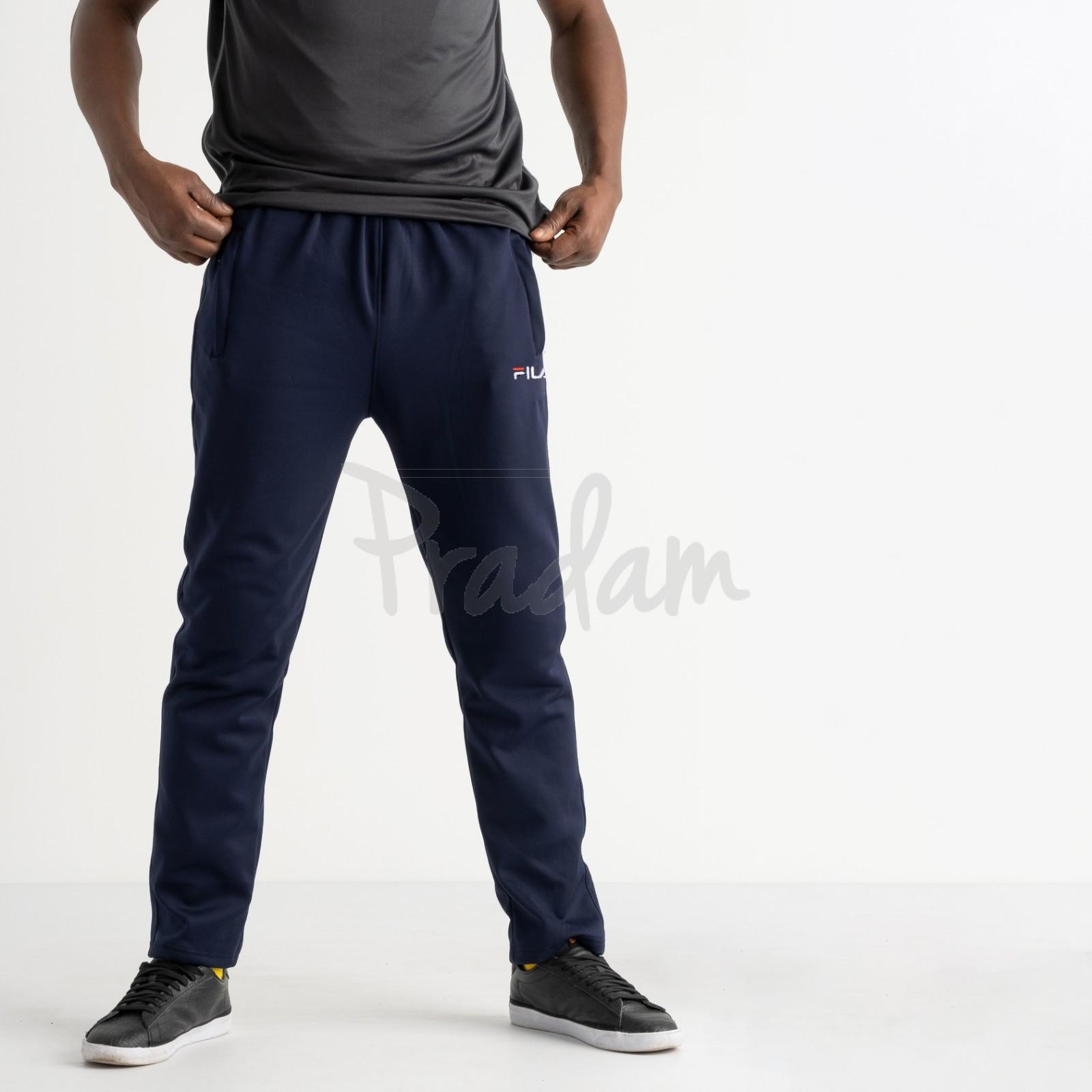 16406-2 синие батальные спортивные брюки из двунитки (4 ед. размеры: 56.58.60.62)