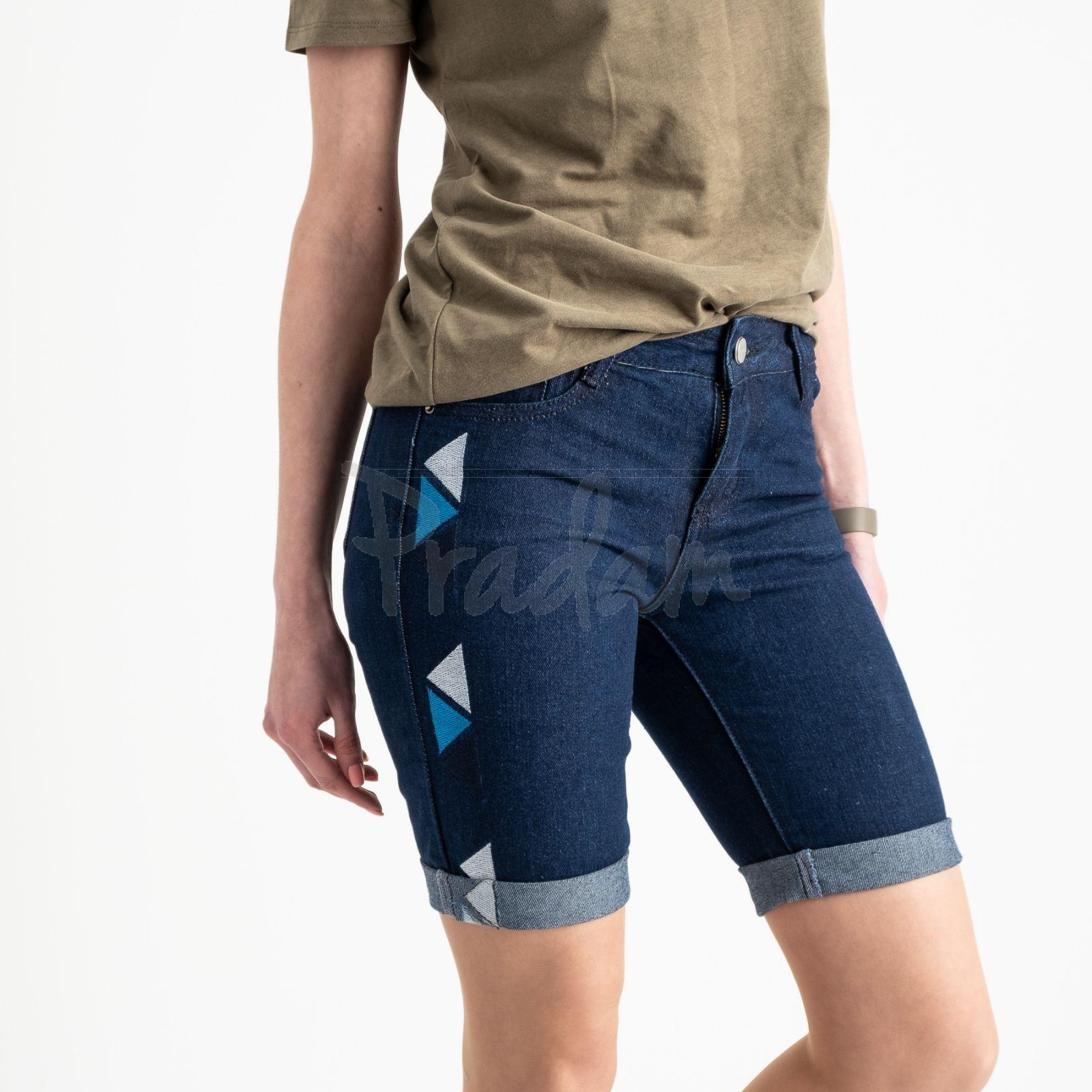2355 Jushioumfiva шорты джинсовые  котоновые (6 ед. размеры: 25.26.27.28.29.30)