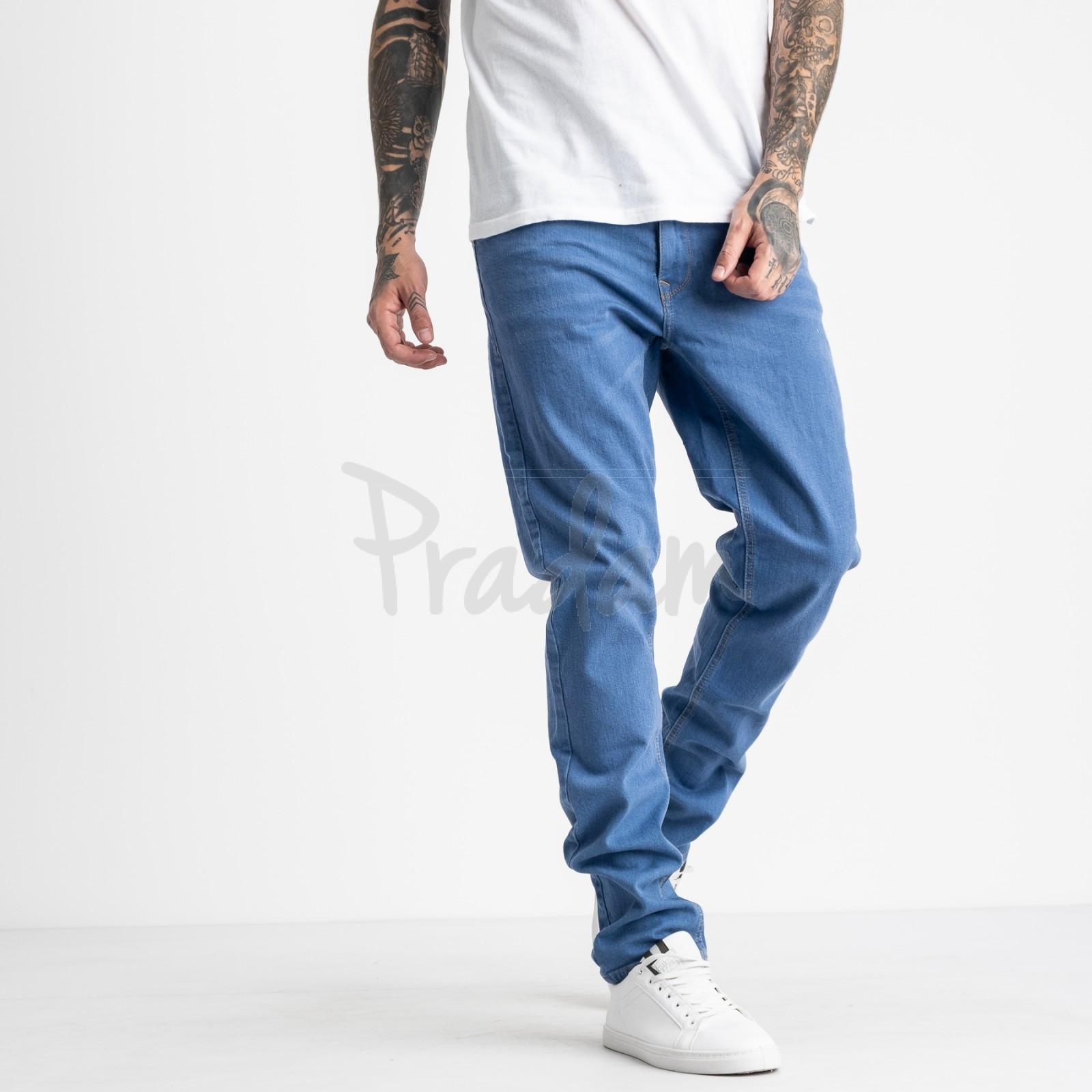 1932 Nescoly джинсы мужские голубые стрейчевые (8 ед. размеры: 30.32.34/2.36/2.38.40)
