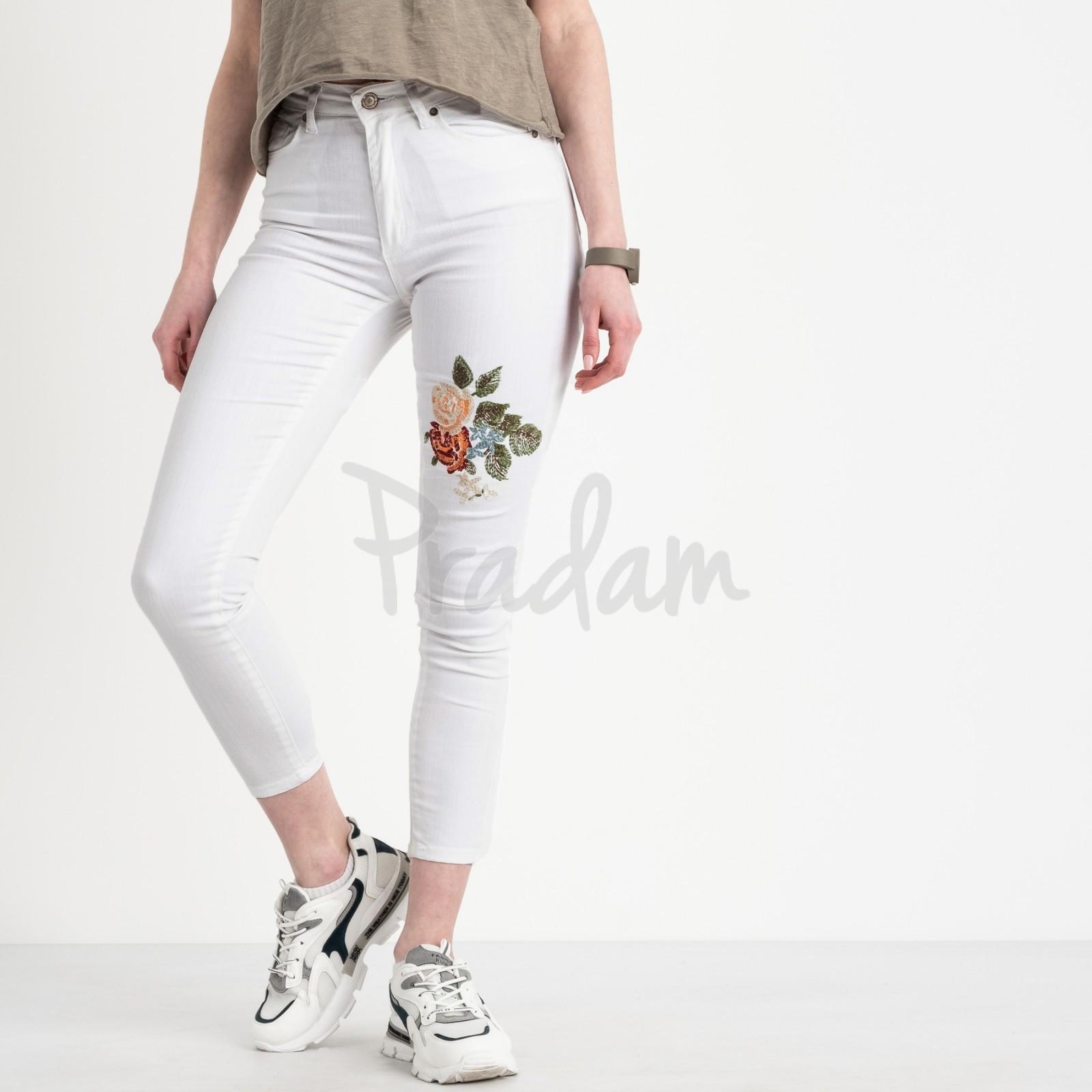 0911 Miss Laufen американка белая стрейчевая (6 ед. размеры: 26.27.28.29.30.31)
