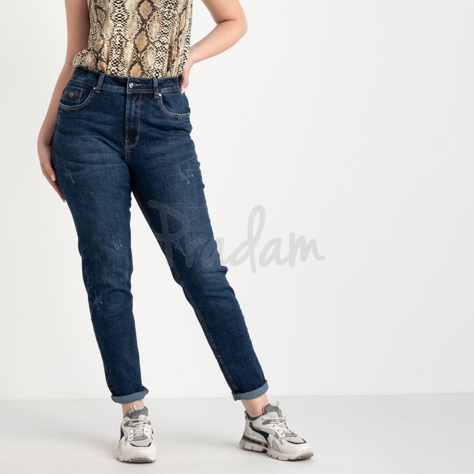 0057-1 А Relucky джинсы батальные синие стрейчевые (6 ед. размеры: 31.32.33.34.36.38)