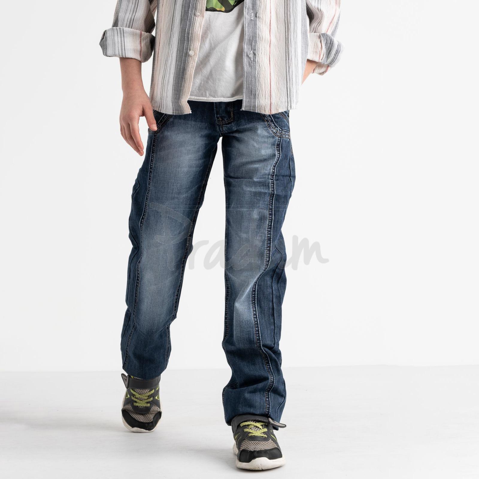 3197-4 Vigoocc джинсы на мальчика синие котоновые (7 ед. размеры: 24.25.26.27.28.29.30)