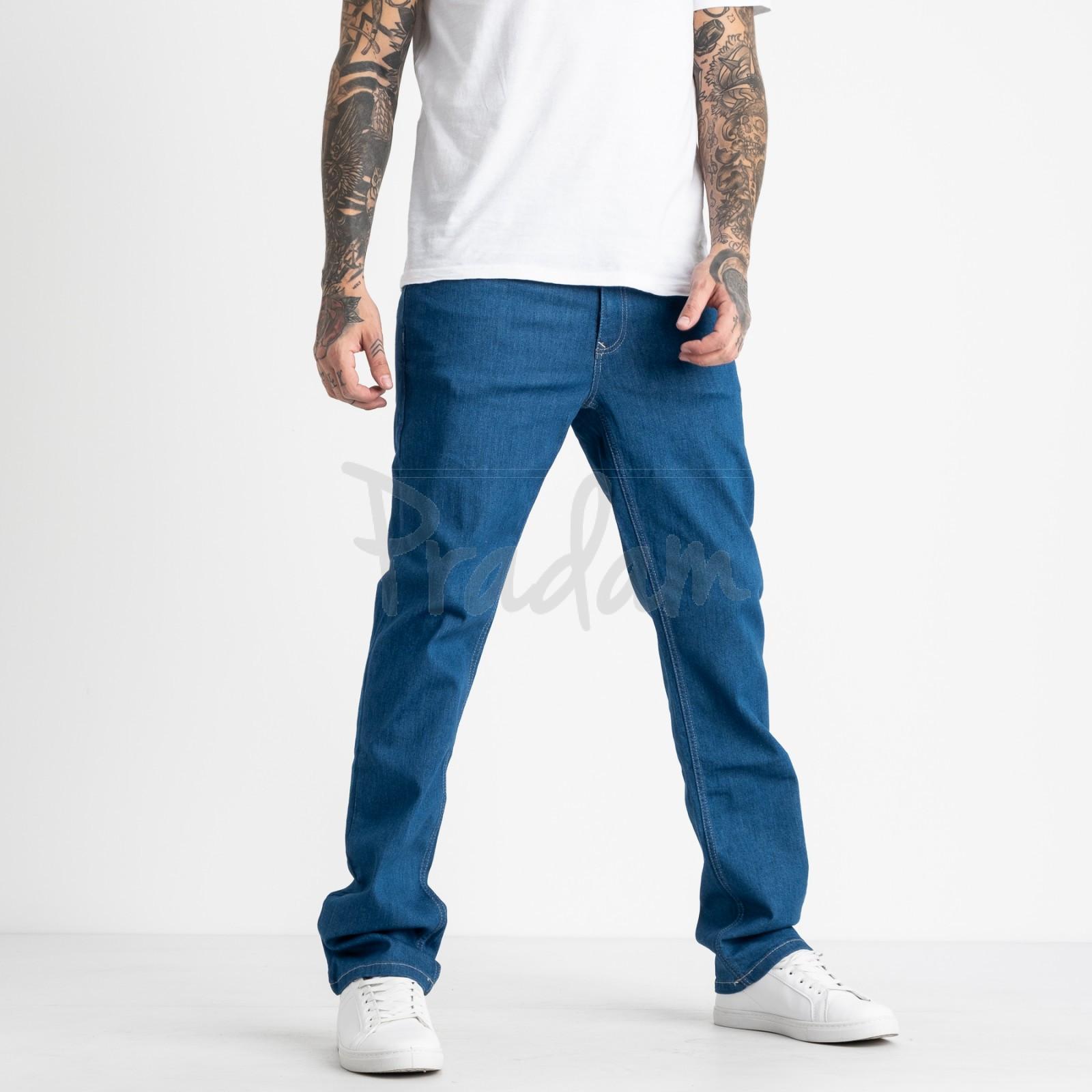 1933 Nescoly джинсы мужские синие стрейчевые (8 ед. размеры: 30.32.34/2.36/2.38.40)