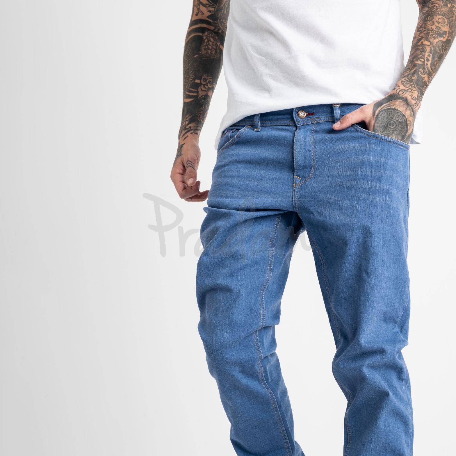 1932-1 Nescoly джинсы мужские голубые стрейчевые (8 ед. размеры: 30.32.34/2.36/2.38/2)