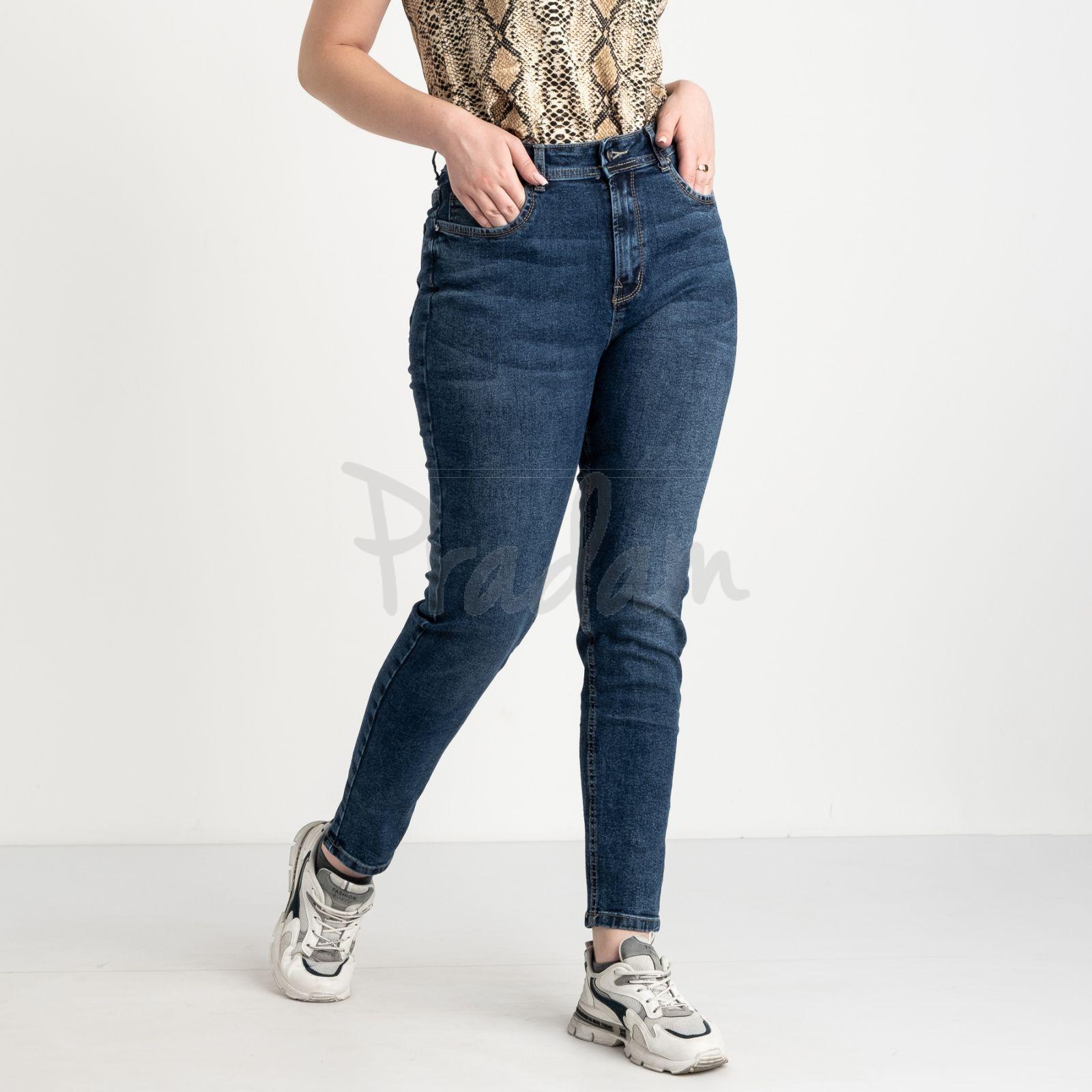 0056-1 А Relucky джинсы батальные синие стрейчевые (6 ед. размеры: 31.32.33.34.36.38)