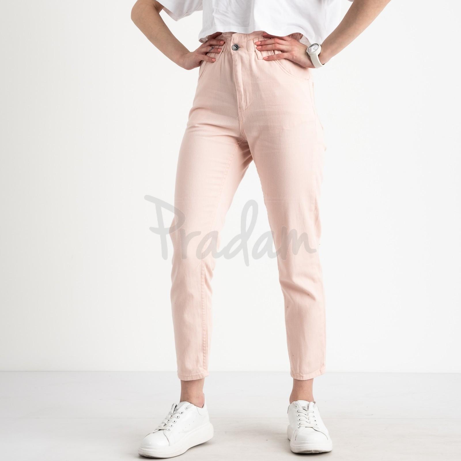 0284-2 Newourcer джинсы женские розовые стрейчевые ( 6 ед. размеры: 26.27.28.29.30.31)