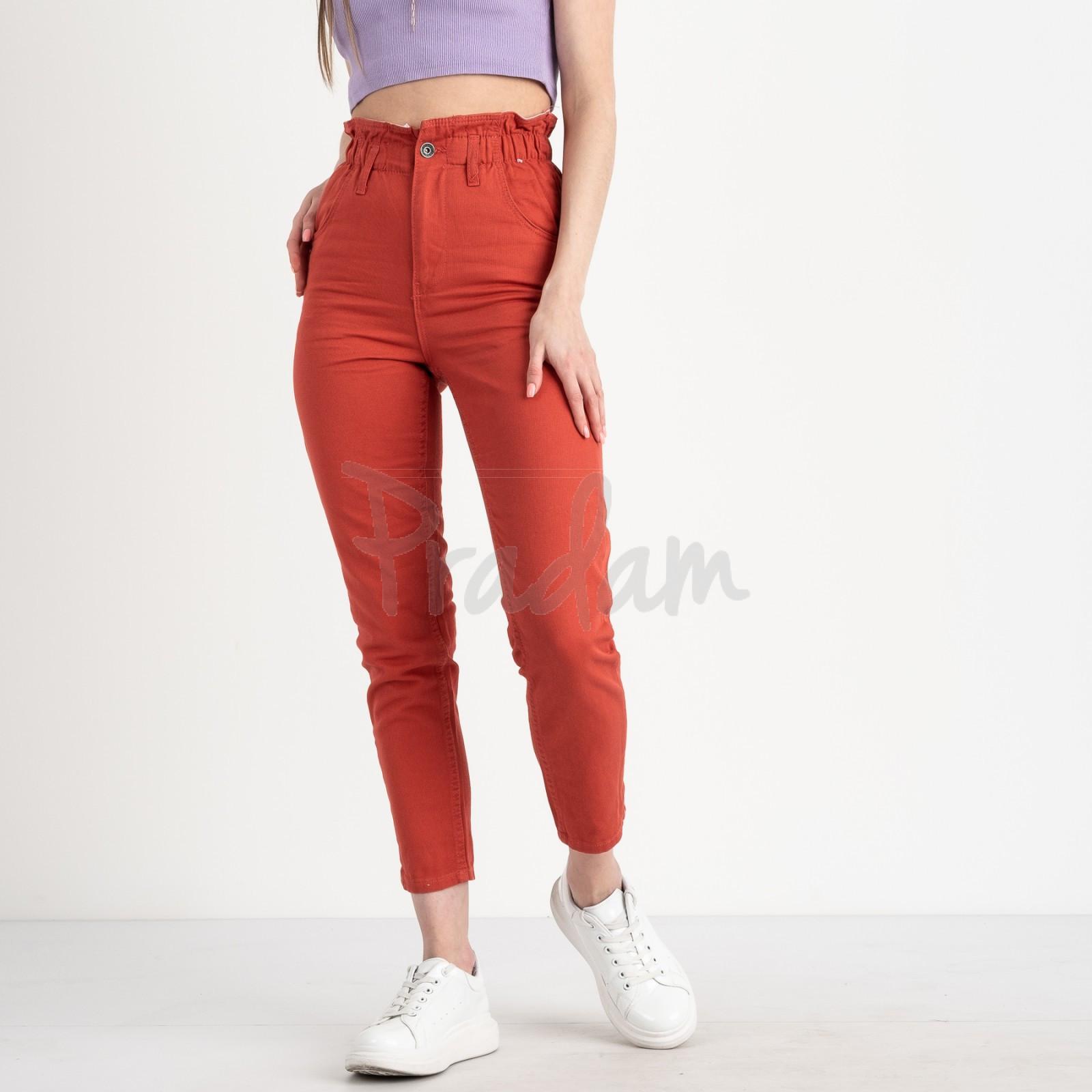 0284-3 Newourcer джинсы женские коралловые стрейчевые ( 6 ед. размеры: 26.27.28.29.30.31)