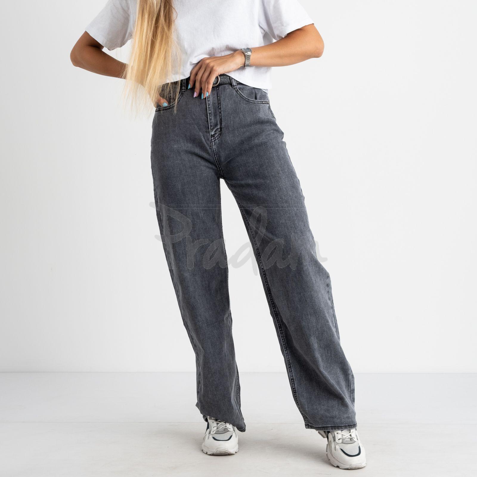 3090 KT.Moss джинсы-клеш серые стрейчевые (6 ед. размеры: 25.26.27.28.29.30)
