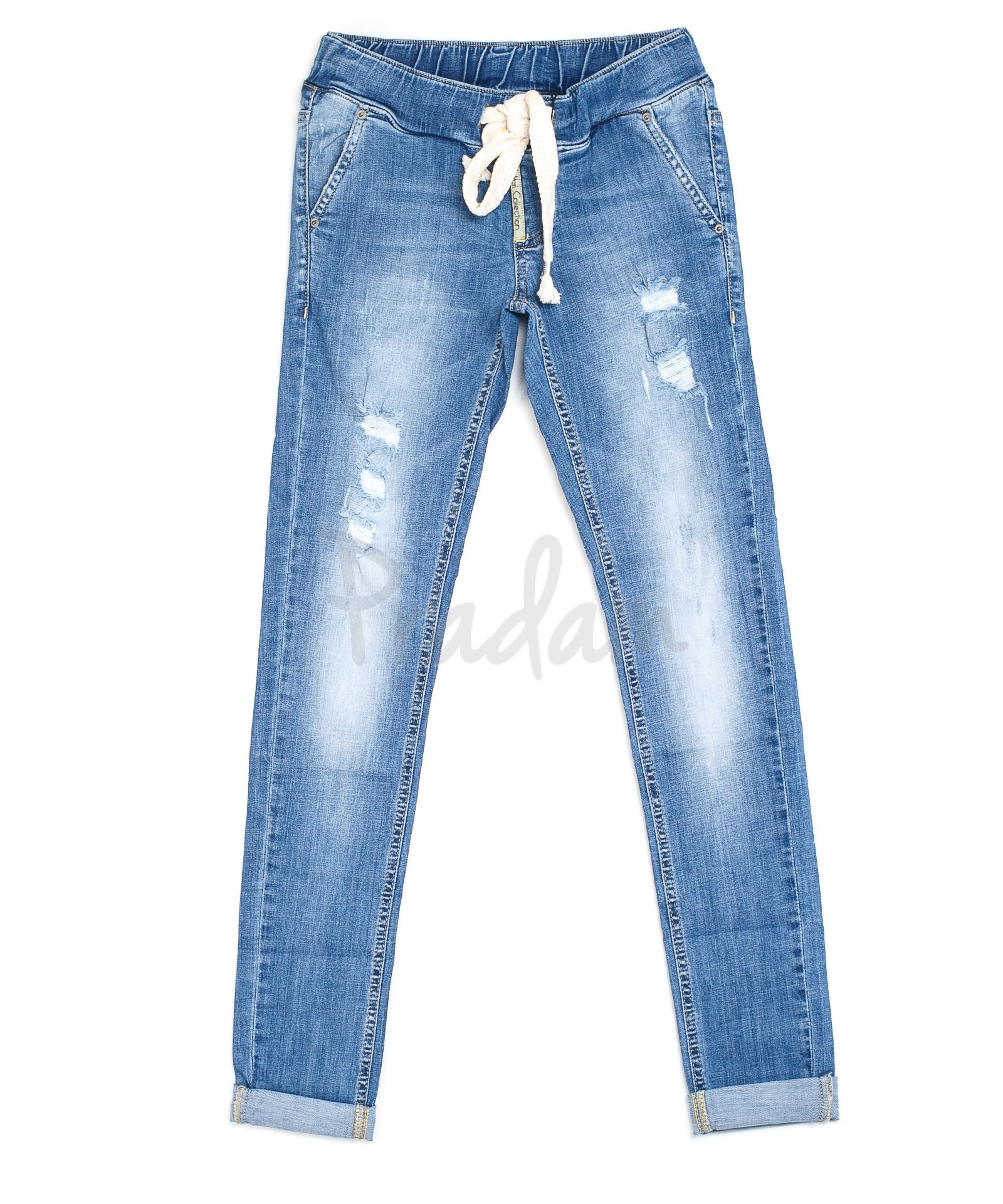 8171352eca7 Женские джинсы на резинке 9068-511 (25-30