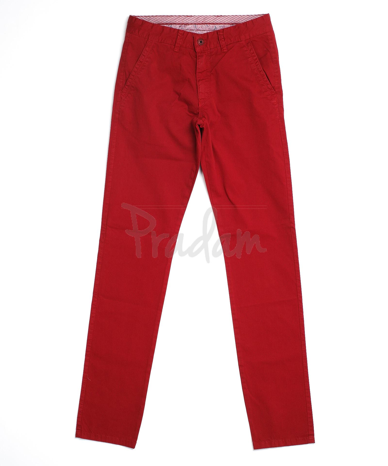e3056d12bf7 Красные брюки мужские 10345 (29-38