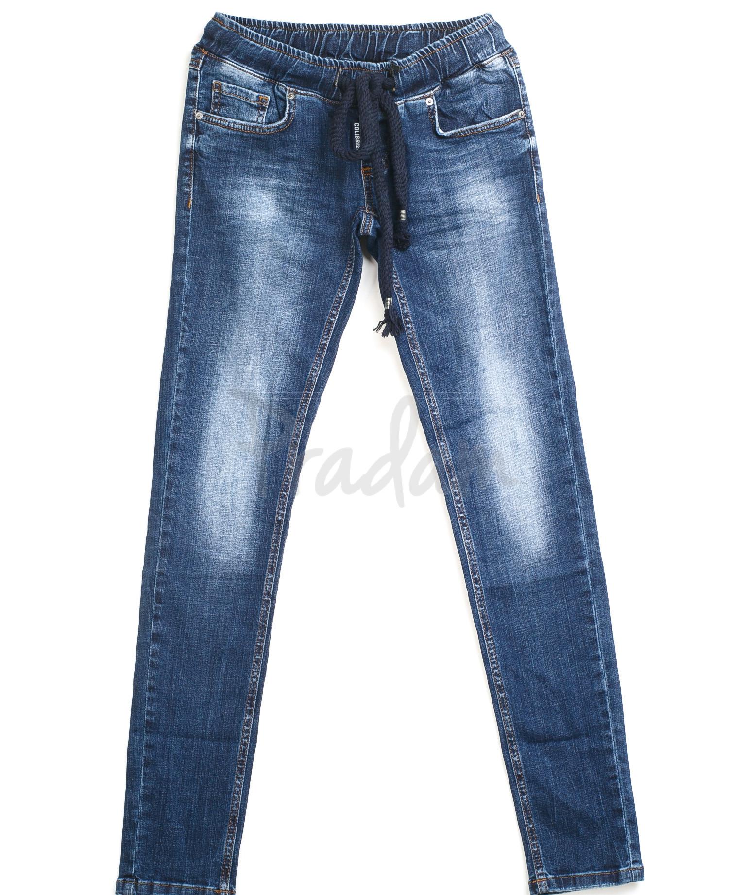 ddf4a30034b Женские джинсы на резинке 9108-518 (25-30