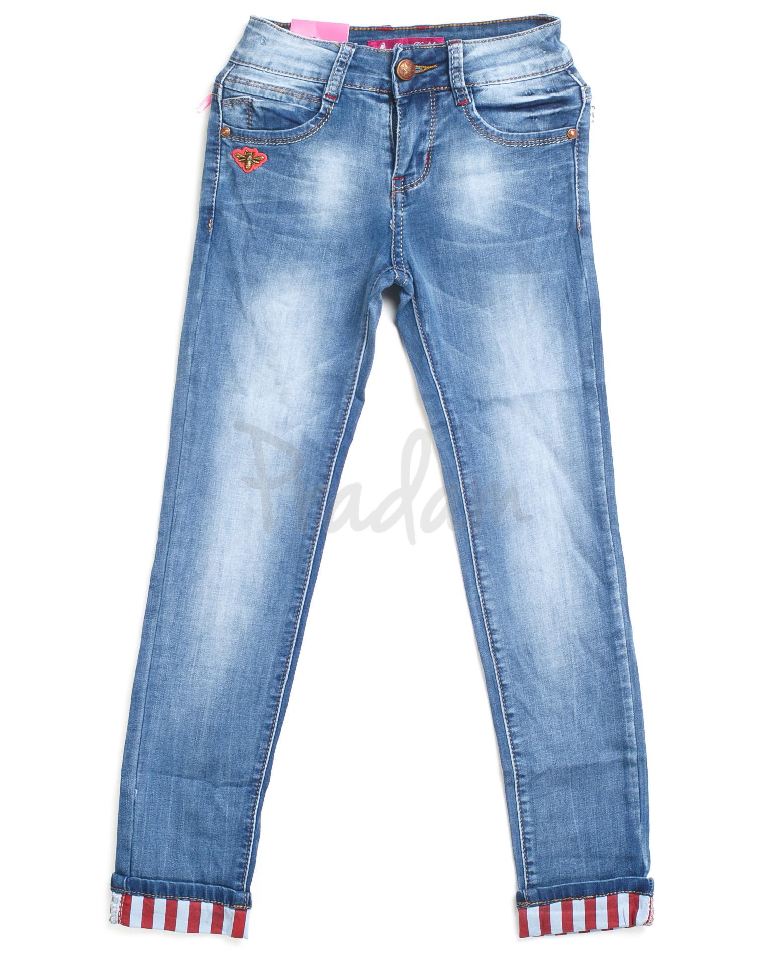 0310 Miss Happy (23-28, подросток 6 ед.) джинсы на девочку весенние стрейчевые