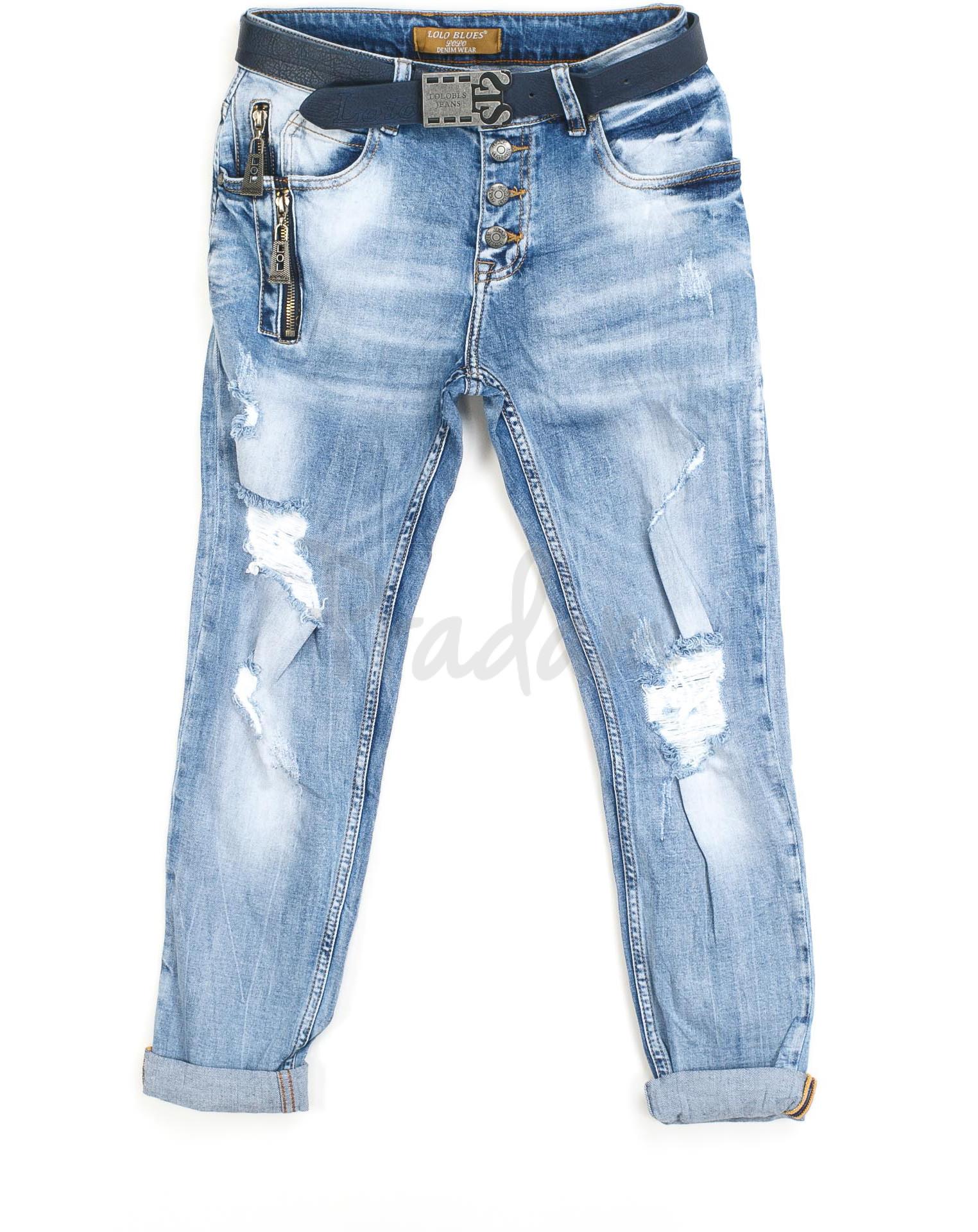 0ddefbcbf3b2e женские джинсы бойфренд на пуговицах 2110 (25-30, 6 ед.) Lolo Blues ...