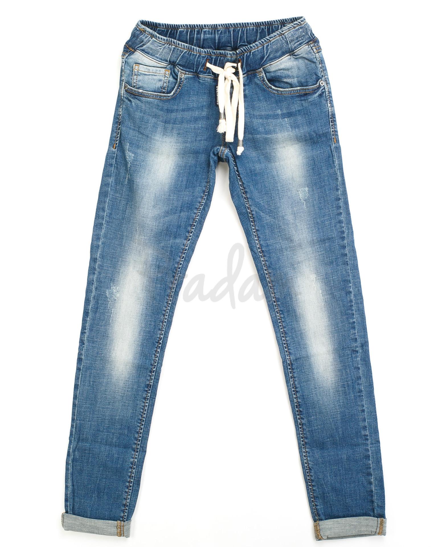 ff2a82fd80a женские джинсы на резинке 9213-550 H (25-30