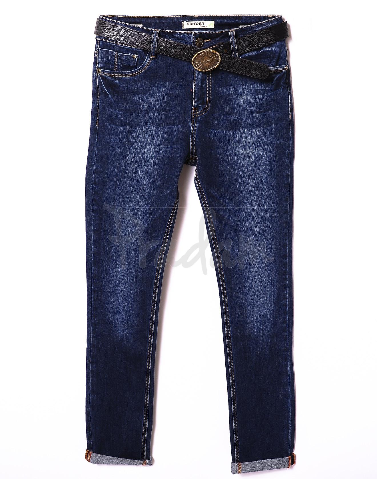 8048-3 Victory (30-36, батал 6 ед.) джинсы женские весенние стрейчевые