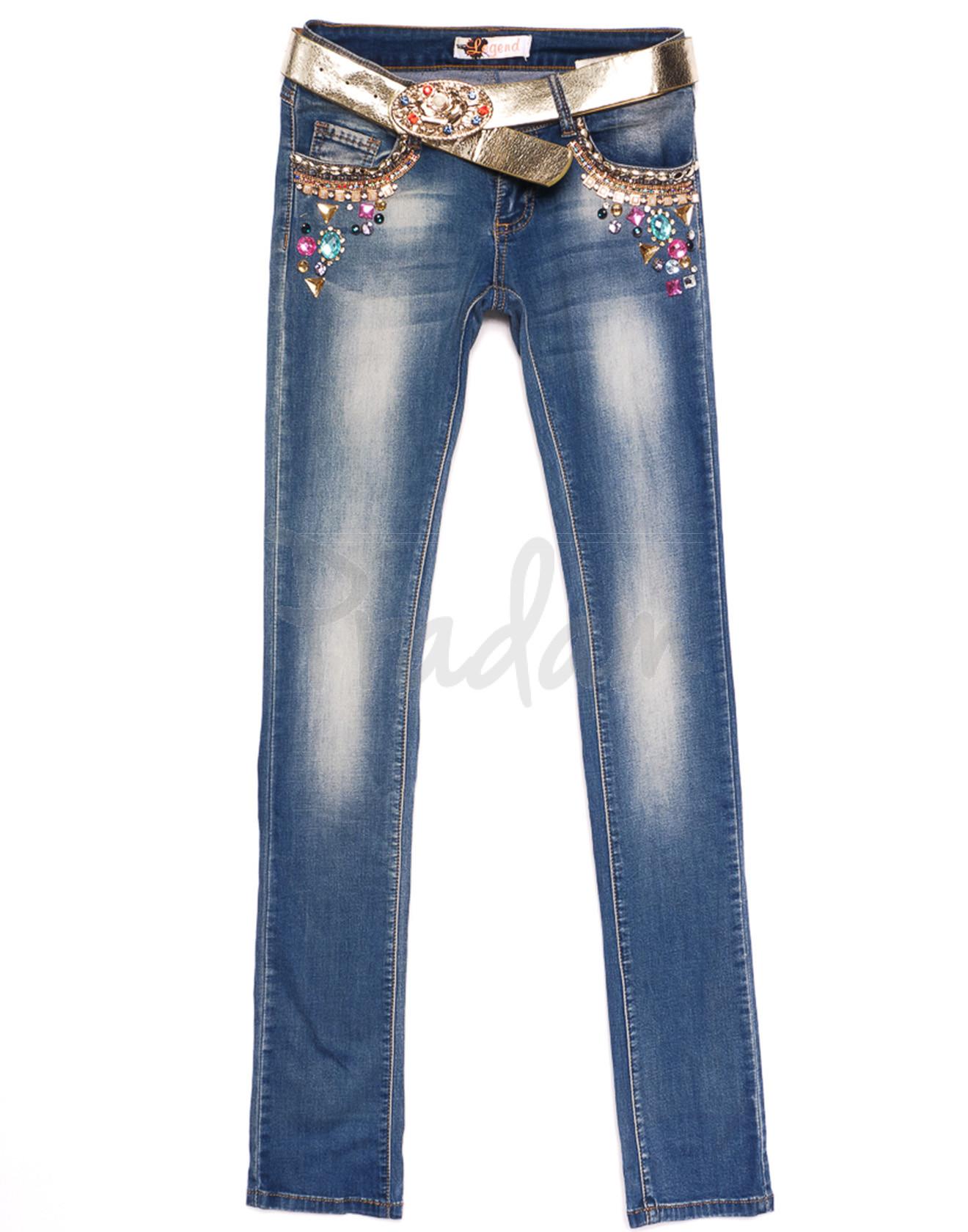 0817 Legend (25-29, 5 ед.) джинсы женские весенние стрейчевые