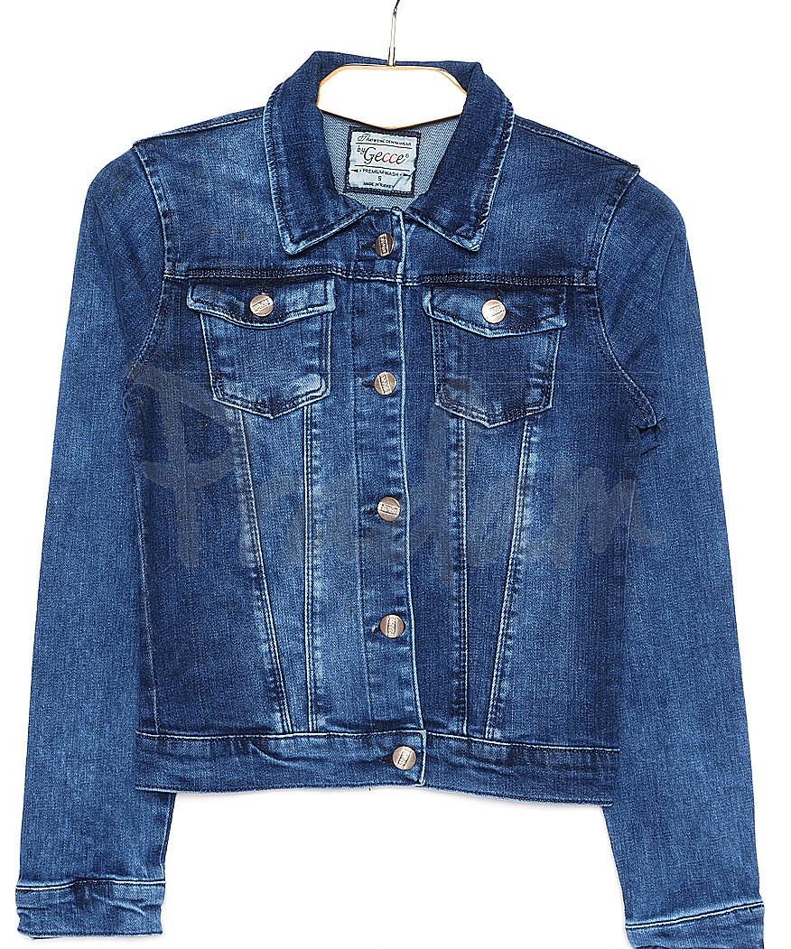 0001 Gecce тёмно-синяя (S-XL, 6 ед.) куртка женская весенняя стрейчевая