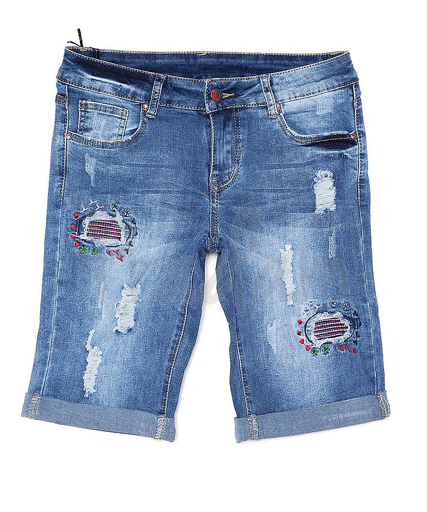 8817 New jeans (25-30, 6 ед.) шорты женские стрейчевые