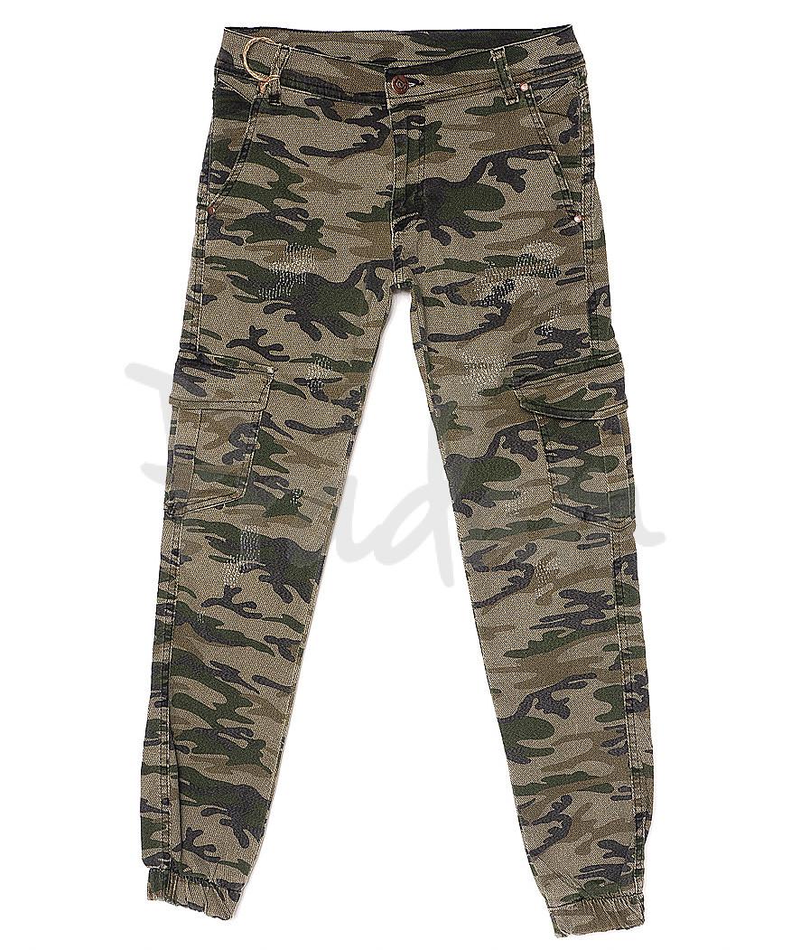1123 LAZ 1 камуфляж C.Devoir (29-36, 8 ед.) брюки мужские летние стрейчевые