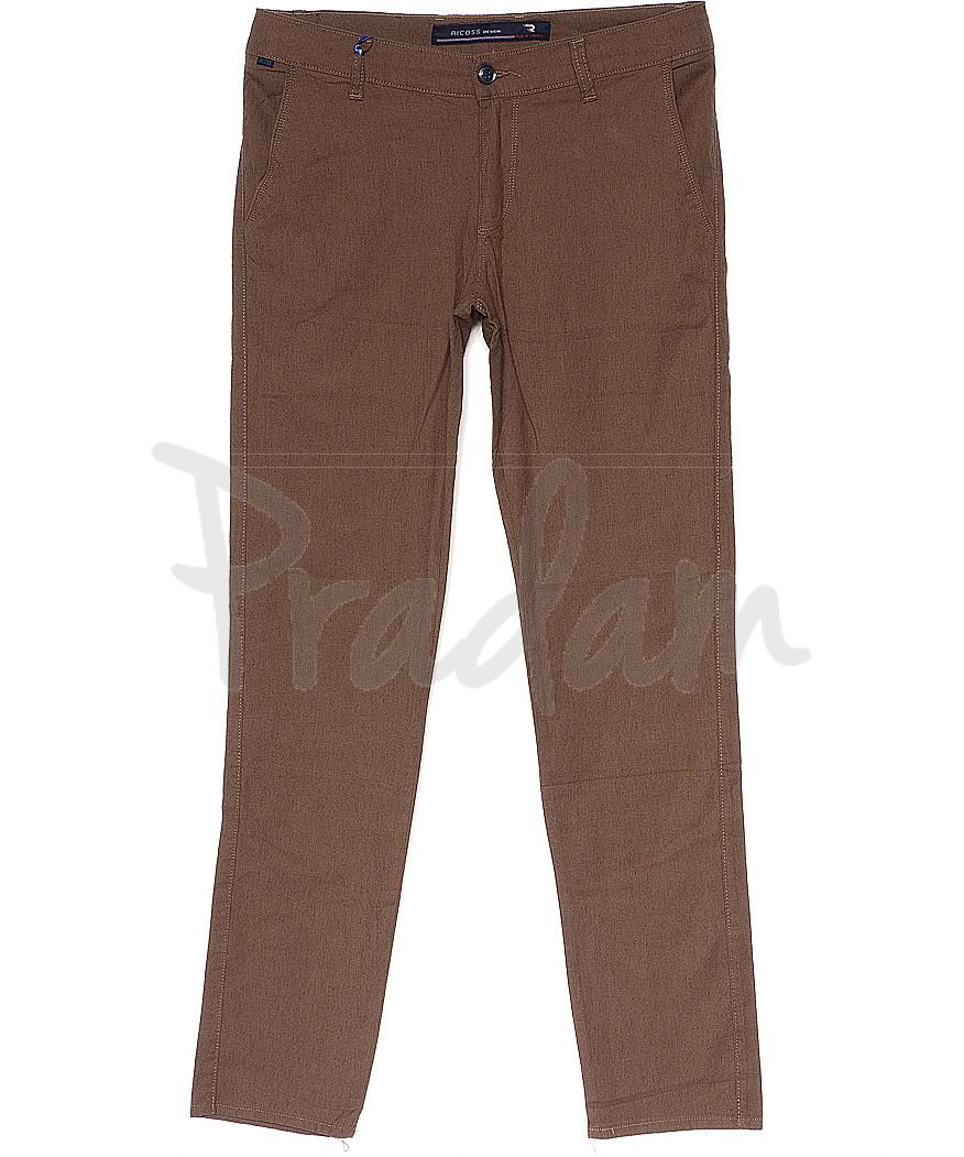8066 vizon Ricoss (32-40, полубатал, 6 ед.) брюки мужские летние стрейчевые