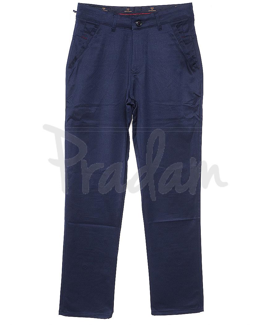 1952-1112 синие Dividers (30-38, 7 ед.) брюки мужские осенние стрейчевые