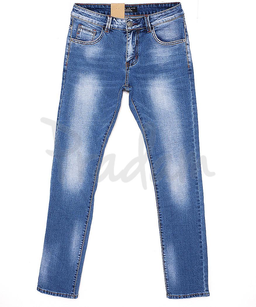 2063 Fang джинсы мужские молодежные с теркой весенние стрейчевые (28-34, 8 ед.)