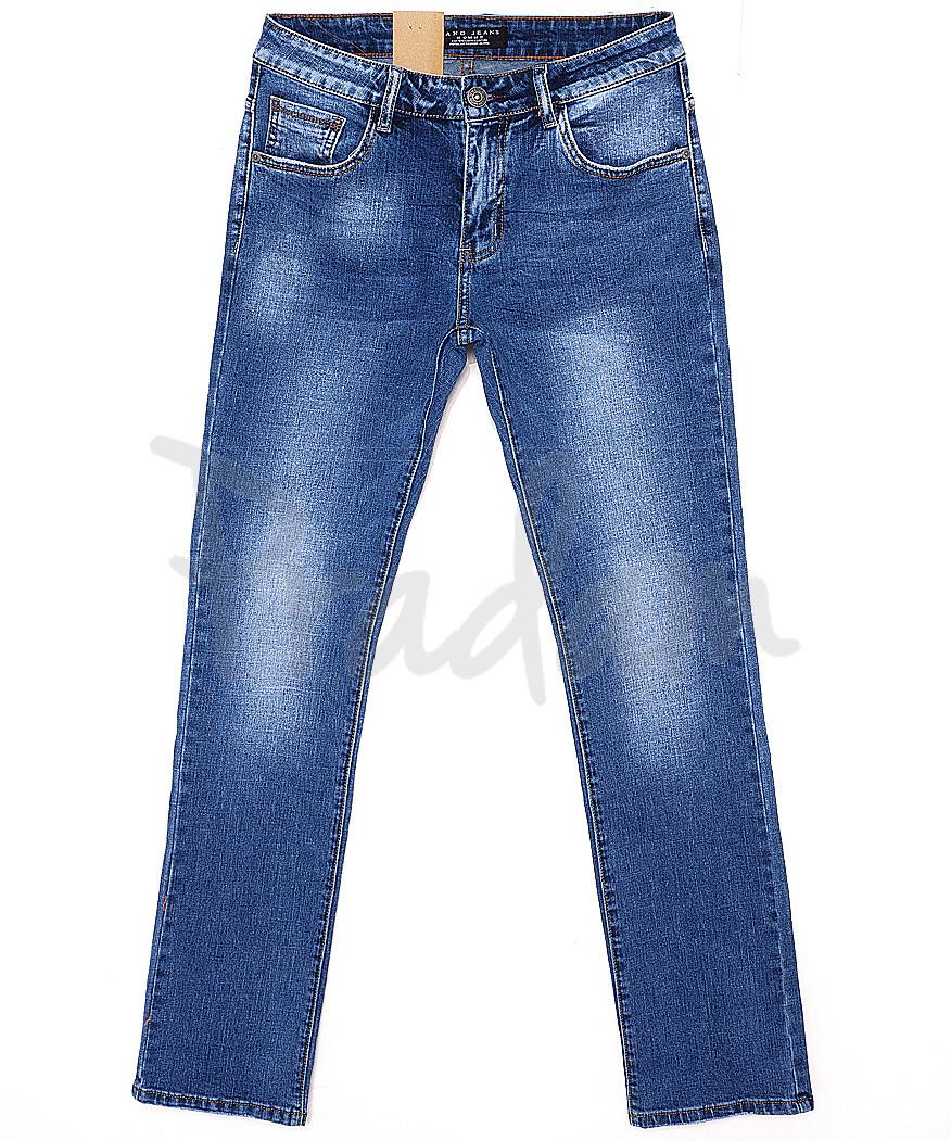 2060 Fang джинсы мужские классические с теркой весенние стрейчевые (30-38, 8 ед.)