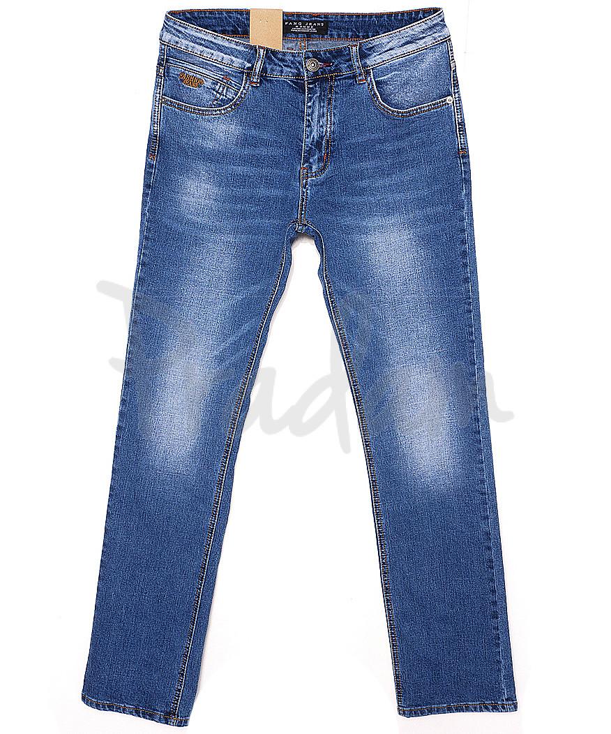 2062 Fang джинсы мужские батальные с теркой весенние стрейчевые (32-40, 8 ед.)