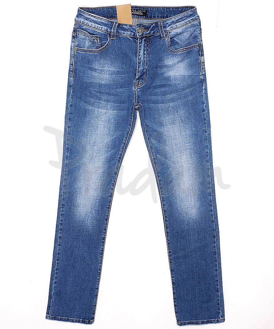 2076 Fang джинсы мужские батальные с теркой весенние стрейчевые (32-40, 8 ед.)
