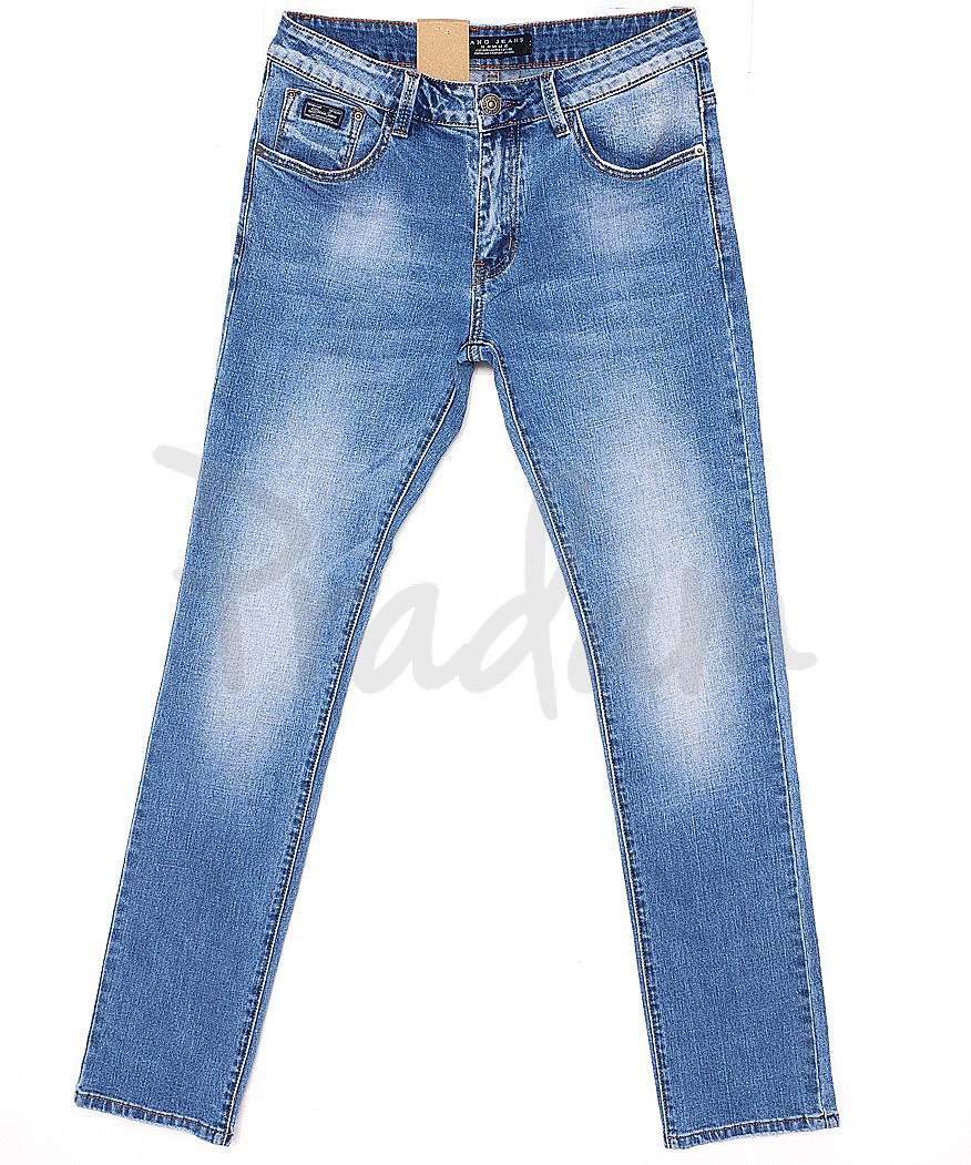 2065 Fang джинсы мужские с теркой весенние стрейчевые (30-38, 8 ед.)