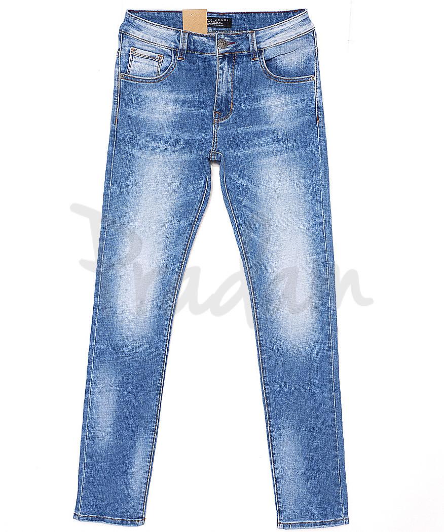 2073 Fang джинсы мужские с теркой весенние стрейчевые (29-36, 8 ед.)