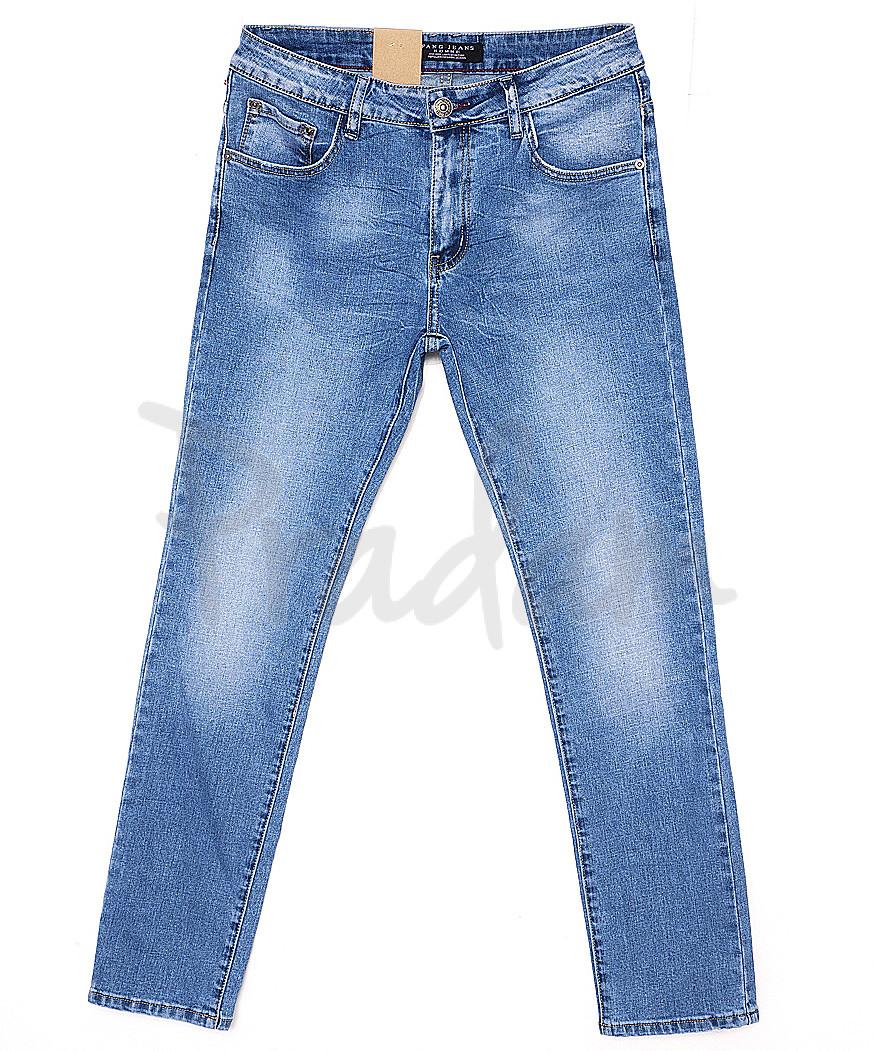 2056 Fang джинсы мужские с теркой весенние стрейчевые (29-36, 8 ед.)