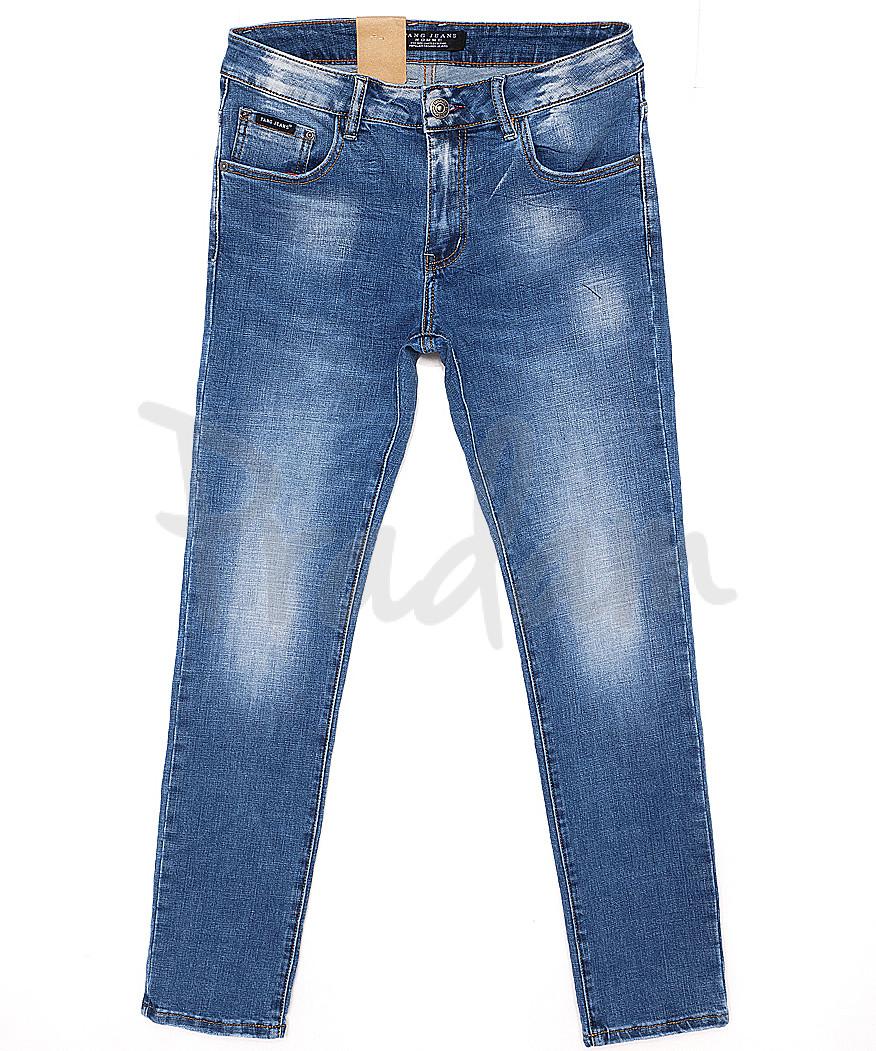 2033 Fang джинсы мужские с теркой весенние стрейчевые (29-36, 8 ед.)