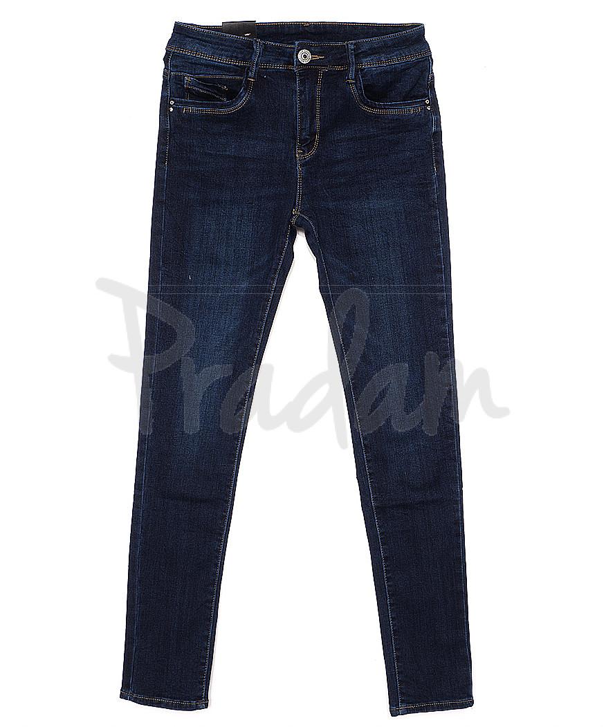 0735 Moon girl джинсы женские зауженные на байке стрейчевые (26-32, 6 ед.)
