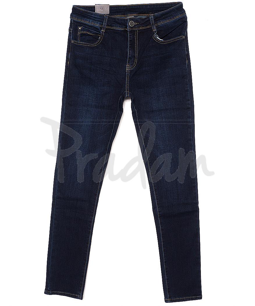 0737 Moon girl джинсы женские батальные на байке стрейчевые (31-42, 6 ед.)