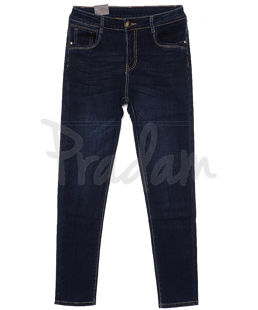 0769 Moon girl джинсы женские батальные на байке стрейчевые (30-40, 6 ед.)
