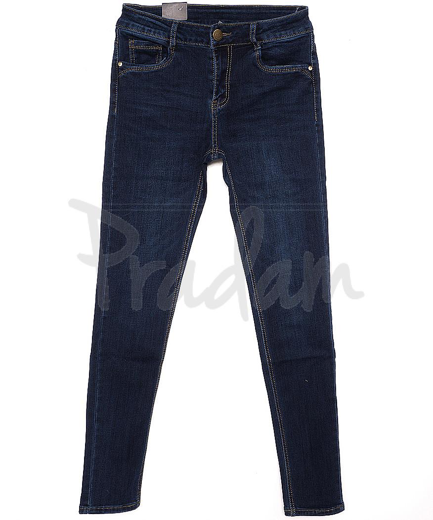 0733 Moon girl джинсы женские зауженные на байке стрейчевые (26-31, 6 ед.)
