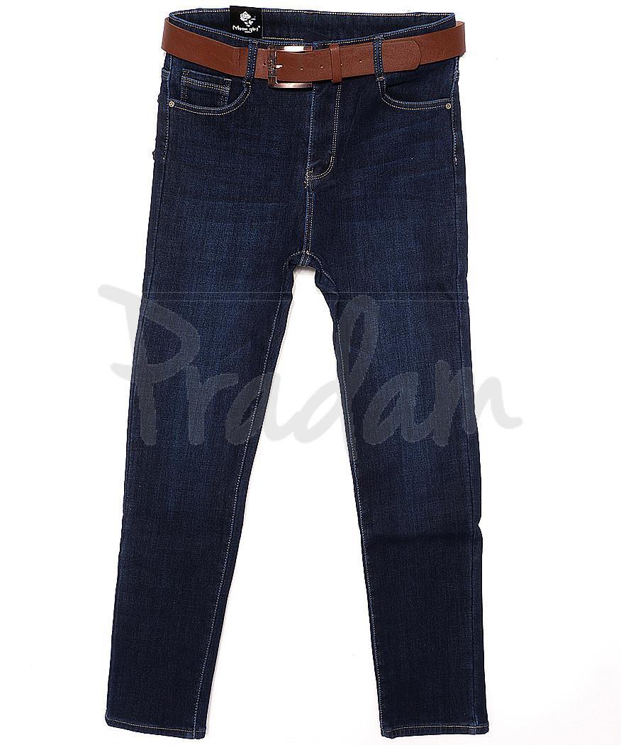 0777 Moon girl джинсы женские батальные на флисе стрейчевые (30-36, 6 ед.)