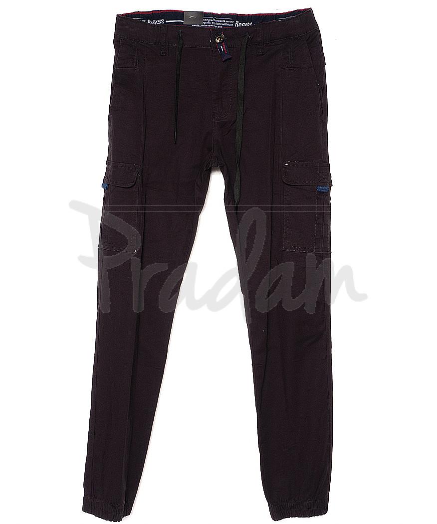 7657 (23) Regass брюки мужские на манжете с карманами весенние стрейчевые (29-38, 8 ед.)