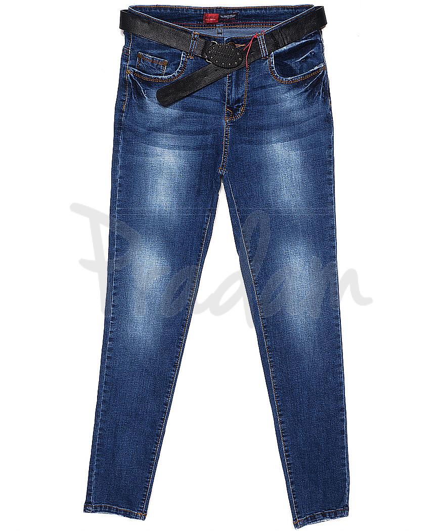 A 0559-11 Relucky джинсы женские батальные весенние стрейчевые (28-33, 6 ед.)