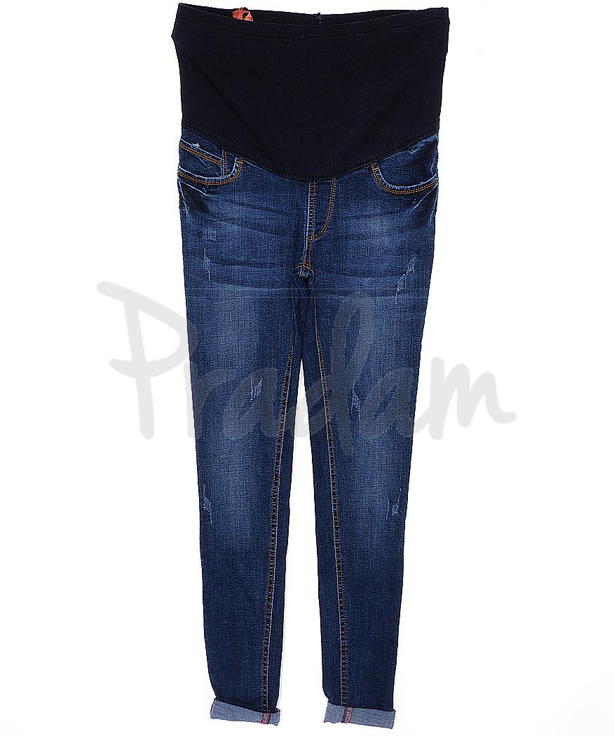 A 0930-10 Relucky джинсы для беременных с царапками весенние стрейчевые (26-31, 6 ед.)