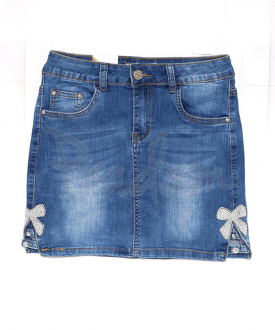 1181 Gourd юбка джинсовая весенняя стрейчевая (26-30, 6 ед.)