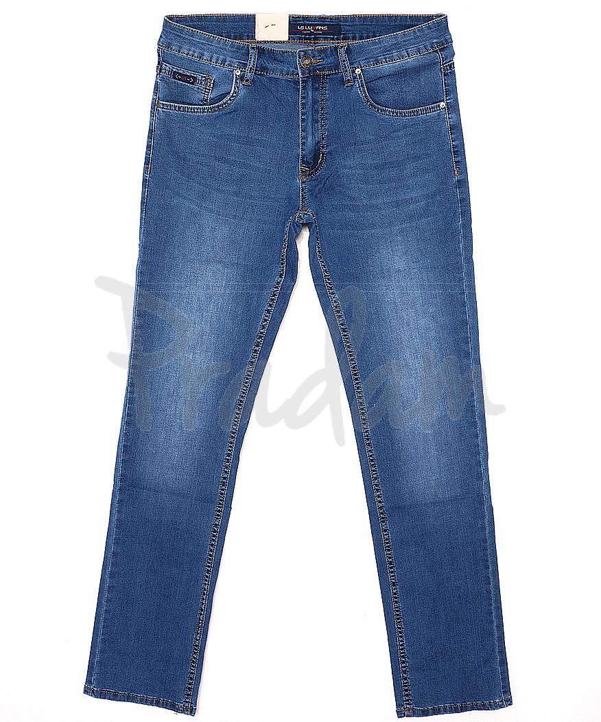 120139 LS джинсы мужские батальные классические весенние стрейчевые (32-38, 8 ед.)
