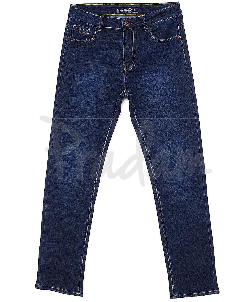 0205 G-Max джинсы мужские батальные классические весенние стрейчевые (32-38, 8 ед.)