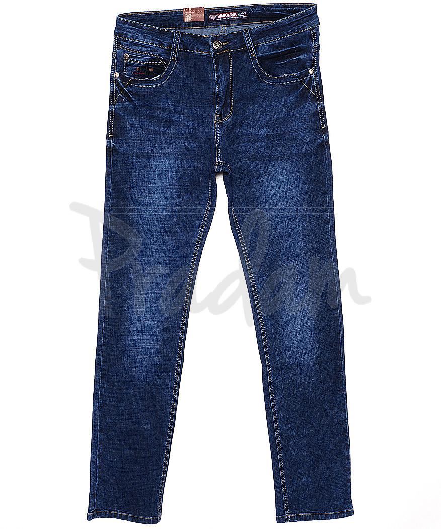 0306 Baron джинсы мужские батальные классические весенние стрейчевые (32-38, 8 ед.)