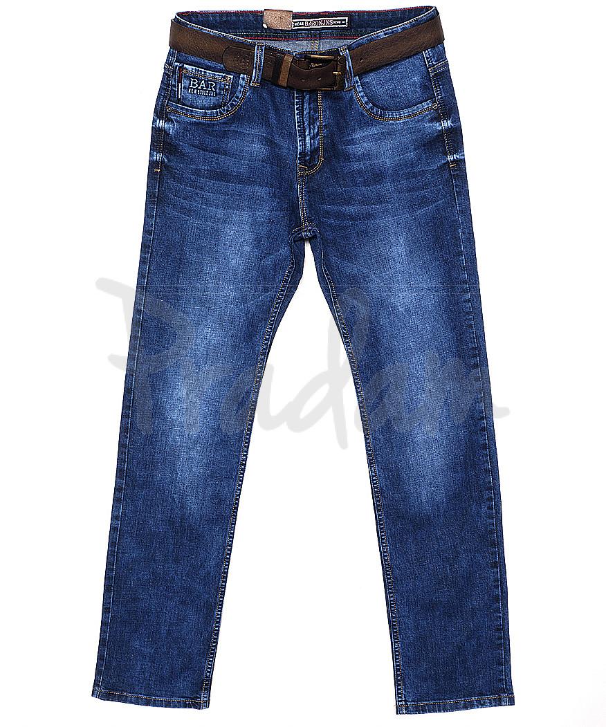 9022 Baron джинсы мужские батальные весенние стрейчевые (32-36, 8 ед.)