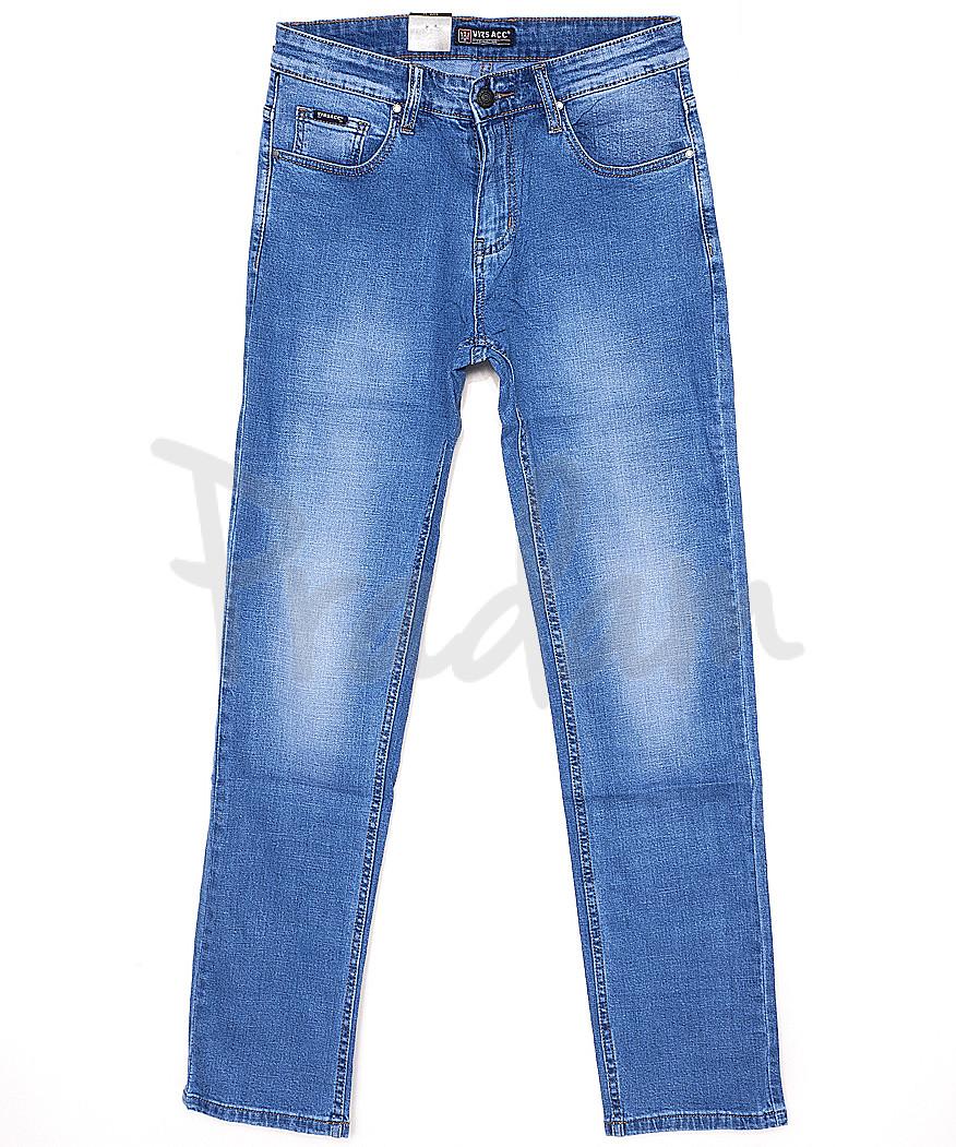 0744 Virsacc джинсы мужские батальные классические весенние стрейч-котон (32-42, 8 ед.)