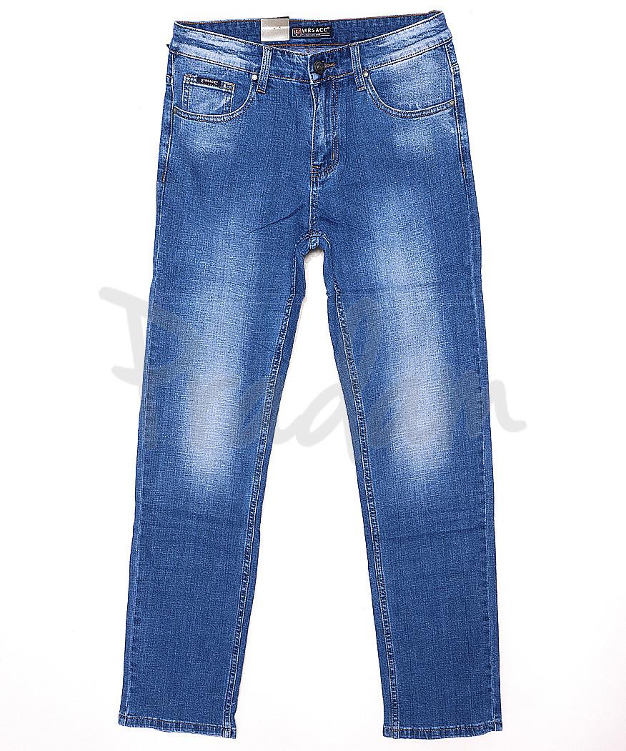 0734 Virsacc джинсы мужские батальные классические весенние стрейч-котон (32-38, 8 ед.)